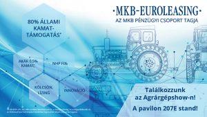 Agrárgépshow 2020 – Ismét együtt az MKB-Euroleasing az MKB Bank és a MEGFOSZ