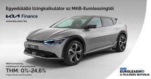 Európában egyedülálló finanszírozási kalkulátor a Kia Magyarország weboldalán az MKB-Euroleasingtől