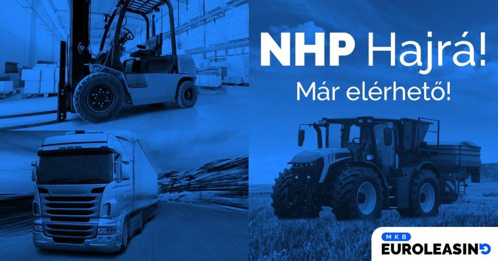 Az MKB Pénzügyi Csoportnál már igényelhető az NHP Hajrá finanszírozási konstrukció