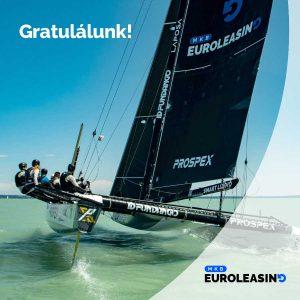 Gratulálunk az Euroleasing-Prospex Teamnek a Kékszalagon elért 5. helyhez!